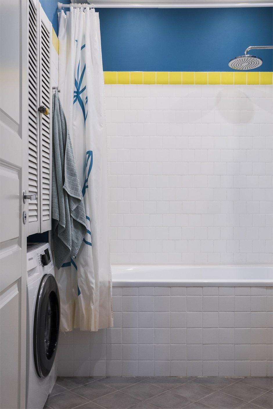 Фотография: Ванная в стиле Скандинавский, Квартира, Проект недели, Раменское, Елена Ивашкина, Монолитный дом, 3 комнаты, 40-60 метров – фото на INMYROOM