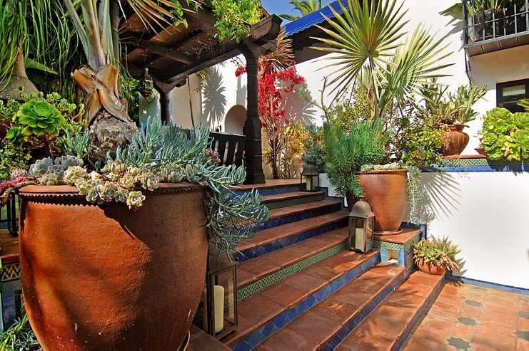 Фотография: Ландшафт в стиле , Дом, Дома и квартиры, Интерьеры звезд, Калифорния – фото на INMYROOM