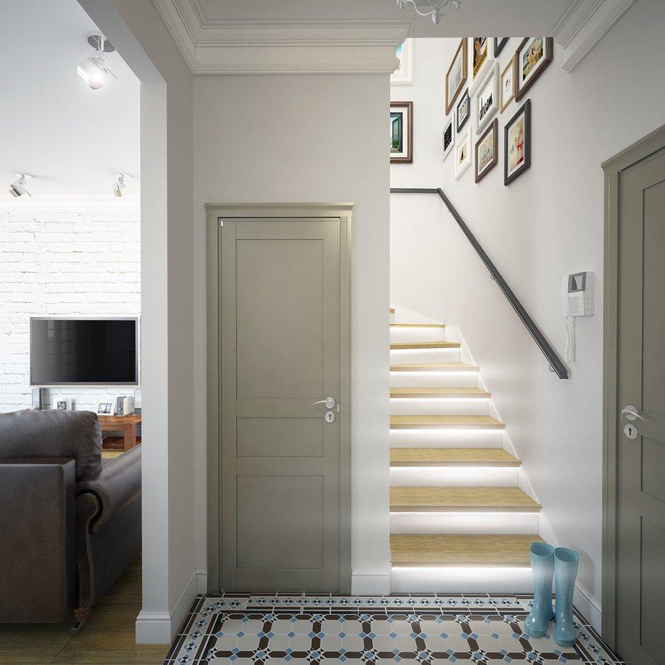 Фотография: Прихожая в стиле Лофт, Современный, Квартира, Дома и квартиры, Москва – фото на INMYROOM