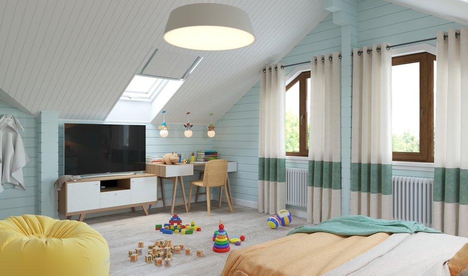 Фотография: Детская в стиле Современный, Дом, Проект недели, Дом и дача – фото на INMYROOM