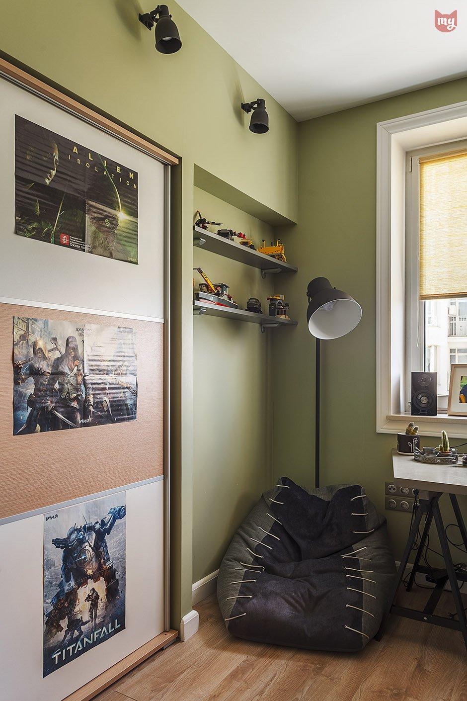 Фотография: Детская в стиле Скандинавский, Квартира, Проект недели, Наталья Сорокина – фото на INMYROOM
