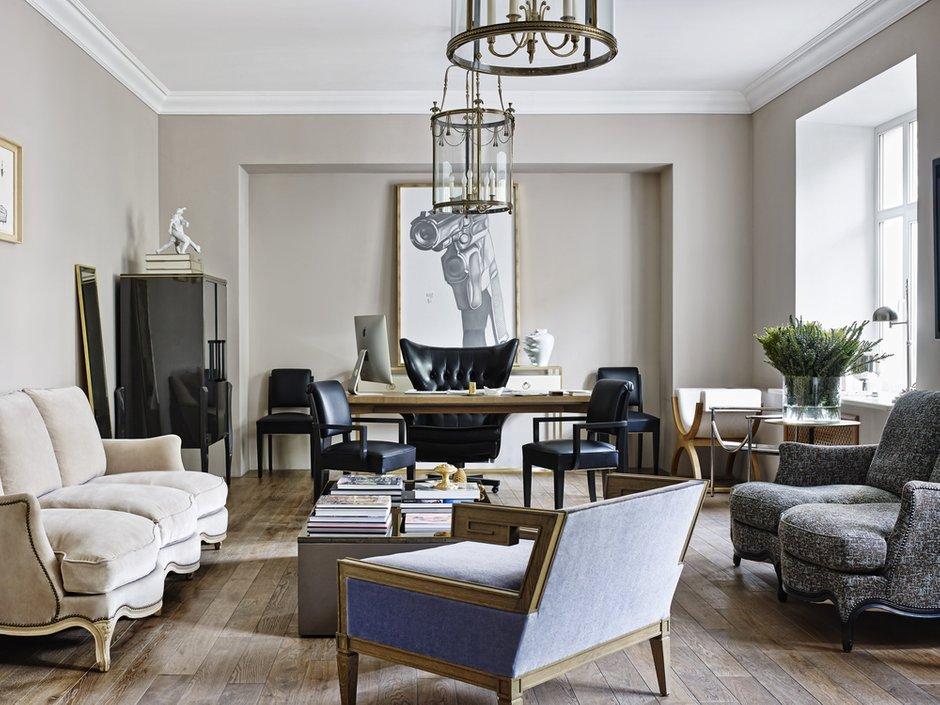 Фотография: Гостиная в стиле , Лофт, Офисное пространство, Офис, Moissonnier, Дома и квартиры – фото на INMYROOM