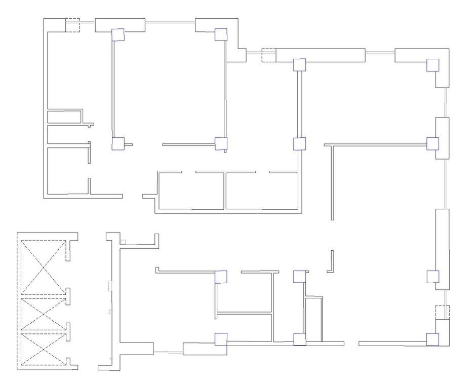 Фотография: Планировки в стиле , Прованс и Кантри, Квартира, Дома и квартиры, Прованс, Проект недели – фото на InMyRoom.ru