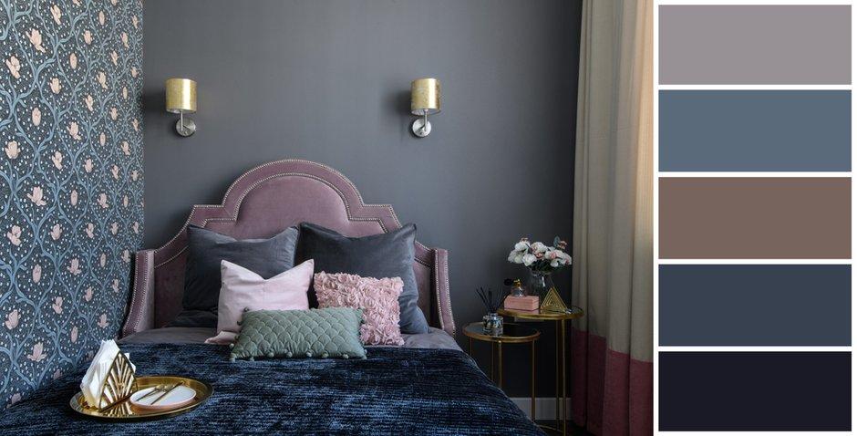 Фотография:  в стиле , Спальня, Советы, цветовая палитра интерьера, цветовая гамма для спальни, цветовые схемы для интерьера – фото на INMYROOM