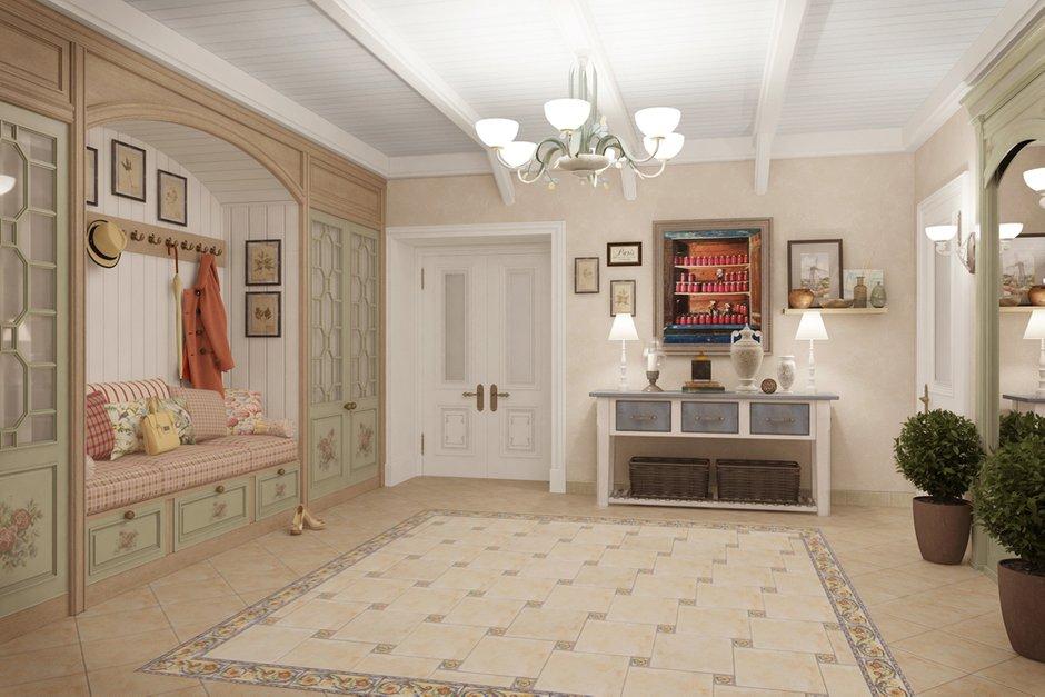 Фотография: Прихожая в стиле Прованс и Кантри, Квартира, Дома и квартиры, Прованс, Проект недели – фото на INMYROOM