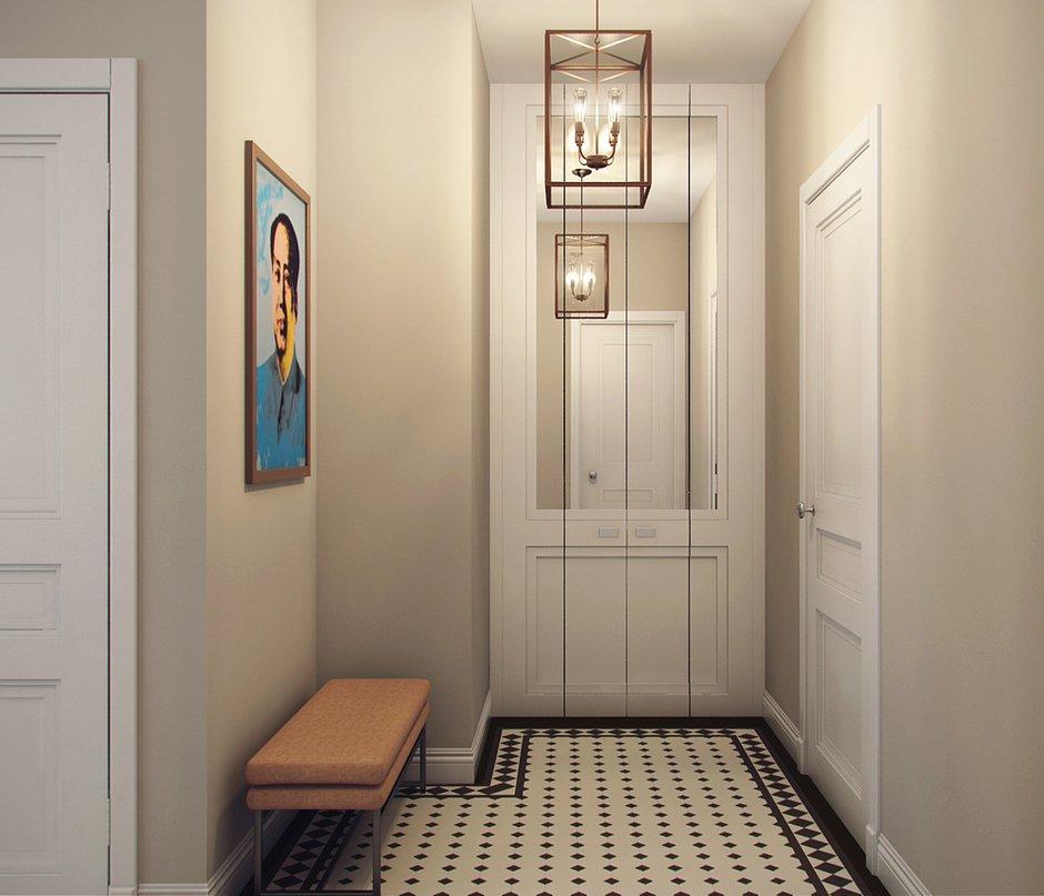 Фотография: Прихожая в стиле Скандинавский, Современный, Малогабаритная квартира, Квартира, Дома и квартиры, Проект недели – фото на INMYROOM
