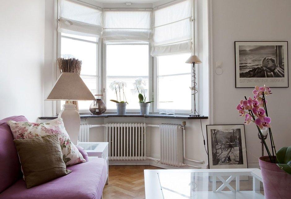 Фотография: Гостиная в стиле Классический, Скандинавский, Современный, Декор интерьера, Малогабаритная квартира, Квартира, Дома и квартиры, Ремонт – фото на INMYROOM