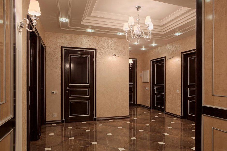 Фотография: Прихожая в стиле Классический, Квартира, Дома и квартиры, Ар-деко, Неоклассика – фото на INMYROOM