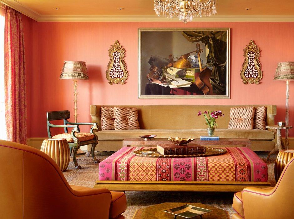 Фотография: Гостиная в стиле Восточный, Декор интерьера, Советы – фото на InMyRoom.ru