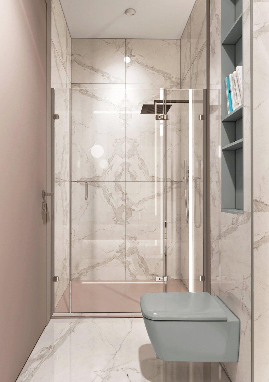 Фотография: Ванная в стиле Современный, Квартира, Минимализм, Проект недели, Москва, Эко, Монолитный дом, Quadro room, 3 комнаты, Более 90 метров – фото на INMYROOM