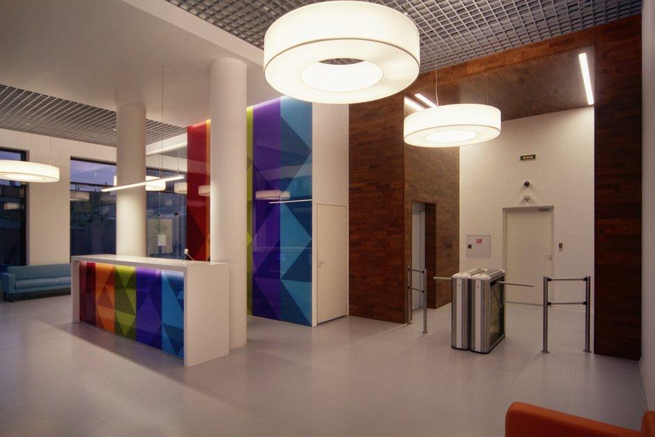 Фотография: Офис в стиле Хай-тек, Современный, Офисное пространство, Дома и квартиры, Проект недели – фото на INMYROOM