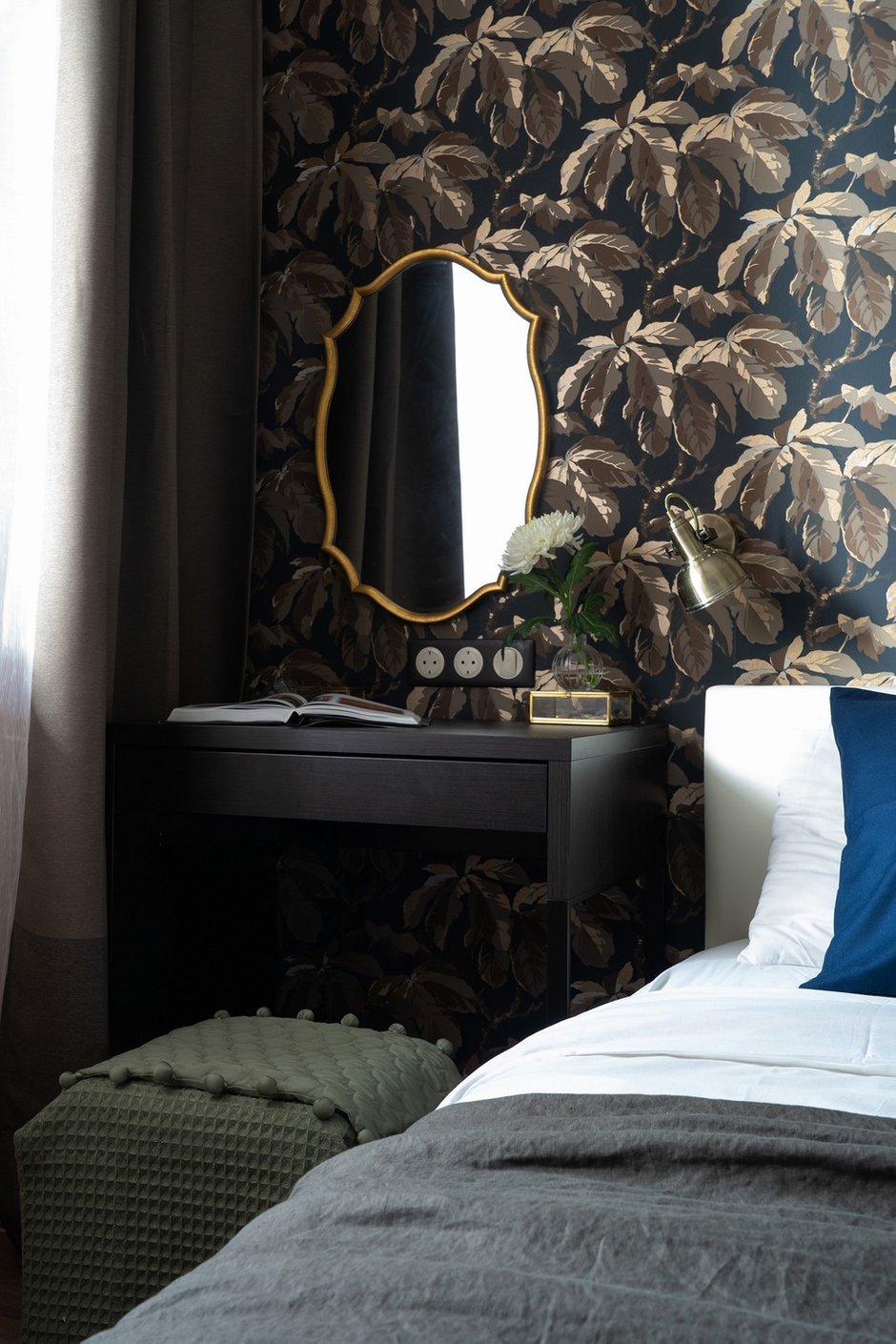 Фотография: Спальня в стиле Современный, Квартира, Проект недели, Санкт-Петербург, Светлана Гаврилова, Монолитный дом, 3 комнаты, 60-90 метров – фото на INMYROOM