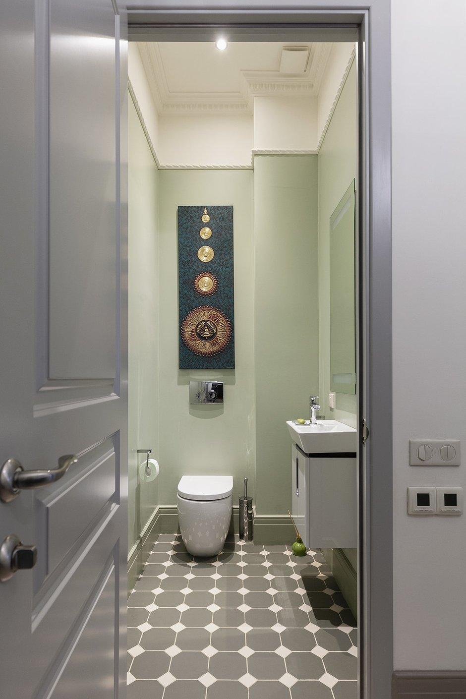 Фотография: Ванная в стиле Современный, Квартира, Проект недели, Москва, Кирпичный дом, 2 комнаты – фото на INMYROOM