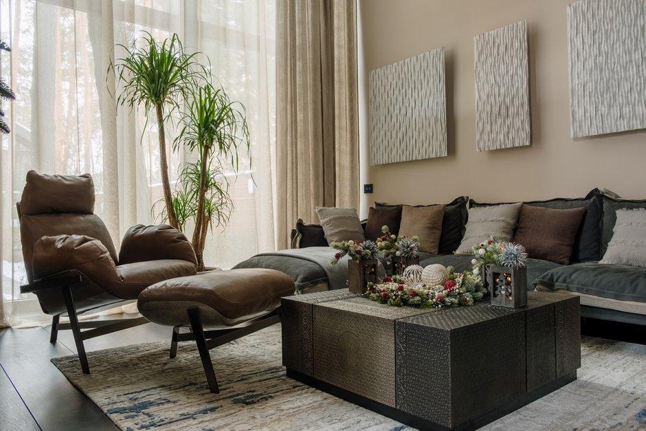 Фотография: Гостиная в стиле Современный, Декор интерьера, Дом, Рождество – фото на INMYROOM