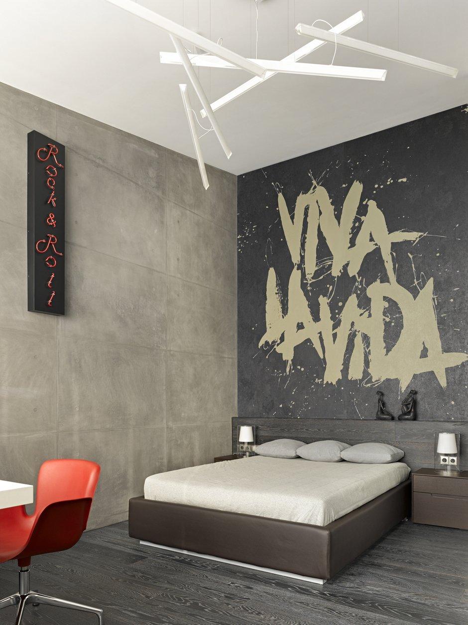 Фотография: Спальня в стиле Лофт, Дом, Дома и квартиры, Минимализм, Проект недели, Эко – фото на INMYROOM