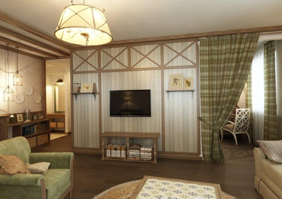 Фотография: Гостиная в стиле Прованс и Кантри, Квартира, Дома и квартиры, IKEA, Проект недели, Деревенский – фото на INMYROOM