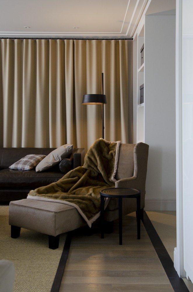 Фотография: Гостиная в стиле Современный, Квартира, Дома и квартиры, Москва – фото на InMyRoom.ru