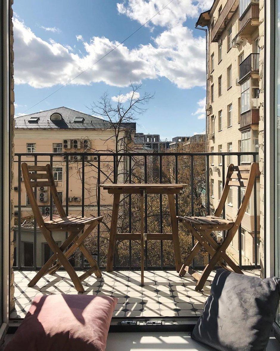 Фотография: Балкон в стиле Эко, Лофт, Эклектика, Квартира, Проект недели, Кирпичный дом, 3 комнаты, 60-90 метров, inmybox, Сбербанк – фото на INMYROOM