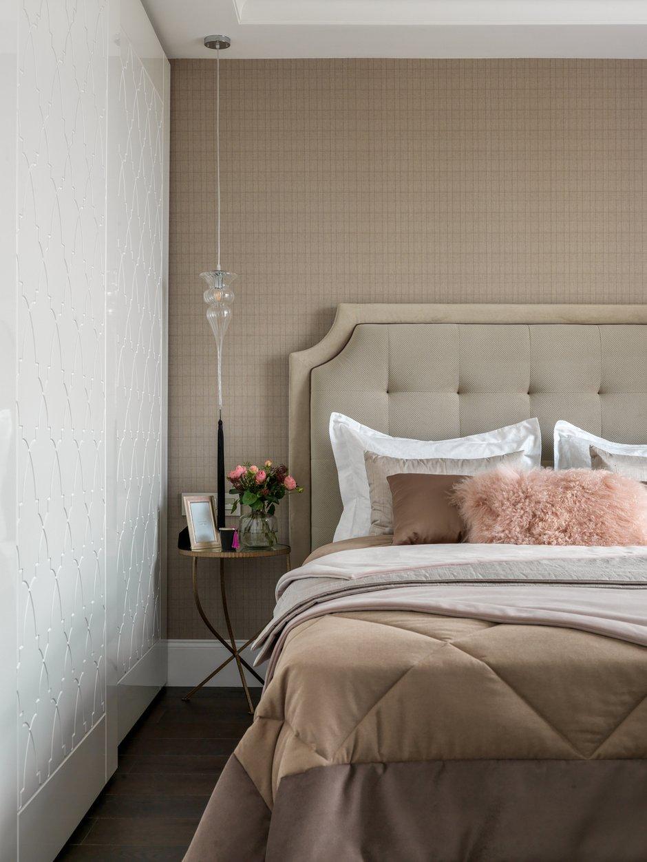 Фотография: Спальня в стиле Классический, Современный, Квартира, Проект недели, Московская область, Монолитный дом, 2 комнаты, 60-90 метров, #эксклюзивныепроекты, Simple Way, ЖК Admiral Waterhause – фото на INMYROOM