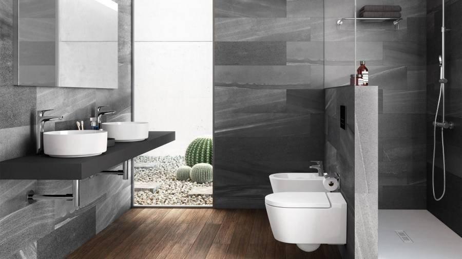 Фотография: Ванная в стиле Современный, LAUFEN, Гид, Roca, сантехника для ванной комнаты, как экономить воду, Экология, умная сантехника, унитаз-биде, in-whash inspira – фото на INMYROOM