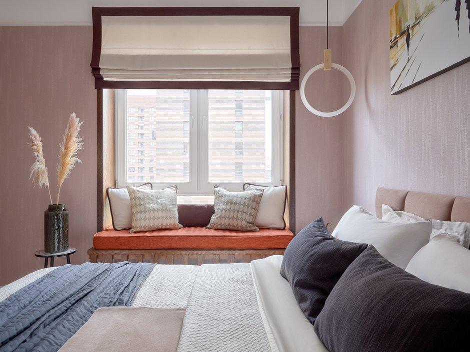 Фотография: Спальня в стиле Современный, Квартира, Проект недели, Москва, 3 комнаты, 60-90 метров, Евгения Ивлиева – фото на INMYROOM