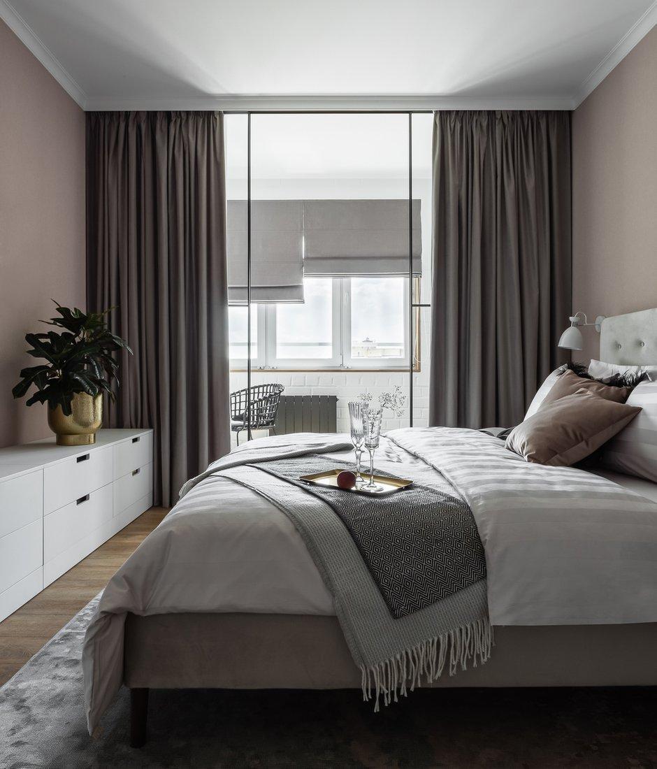 Фотография: Спальня в стиле Современный, Квартира, Проект недели, Челябинск, 3 комнаты, Более 90 метров, Анна Важенина – фото на INMYROOM