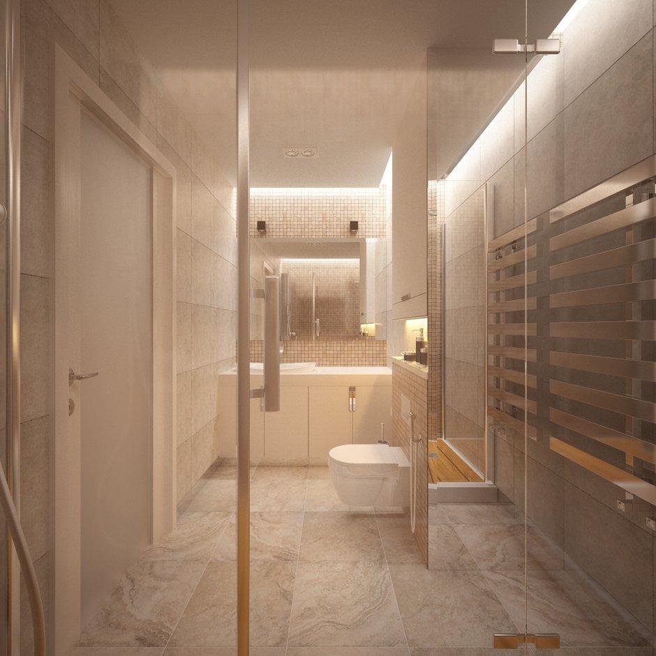 Фотография: Ванная в стиле Современный, Квартира, Проект недели – фото на INMYROOM