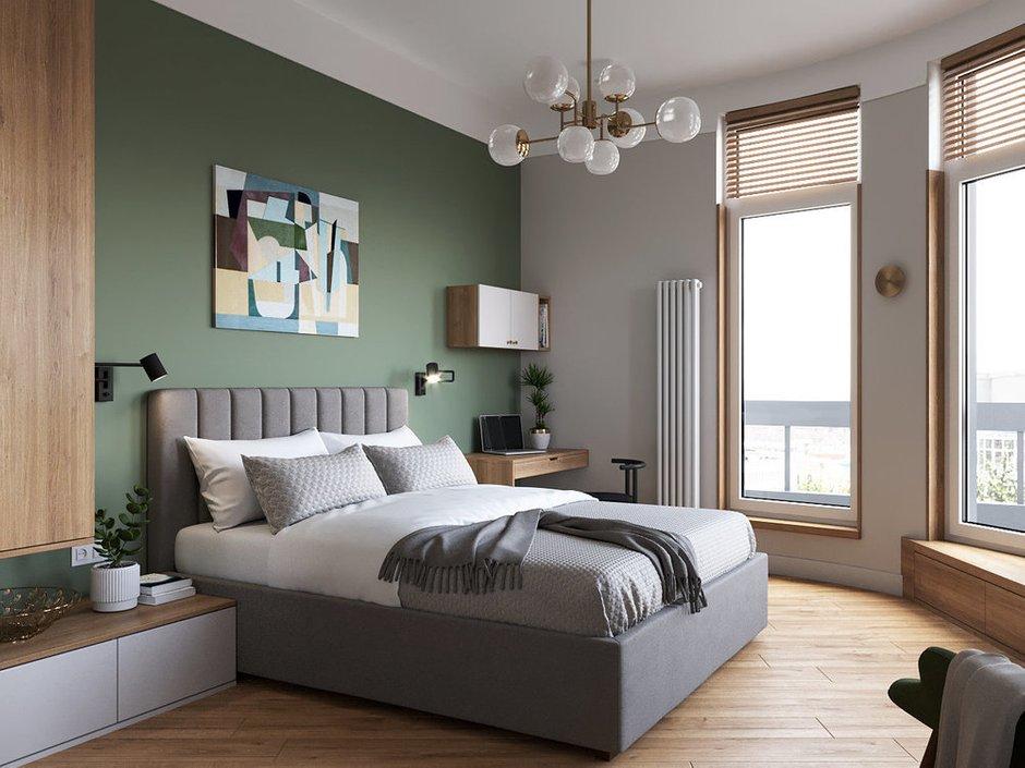 Фотография: Спальня в стиле Современный, Квартира, Перепланировка, Санкт-Петербург, Студия Малицких, 1 комната, 40-60 метров – фото на INMYROOM
