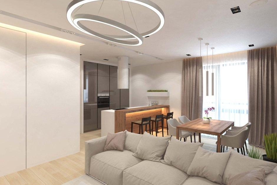 Фотография: Кухня и столовая в стиле Современный, Минимализм, Квартира, Проект недели, Geometrium – фото на INMYROOM