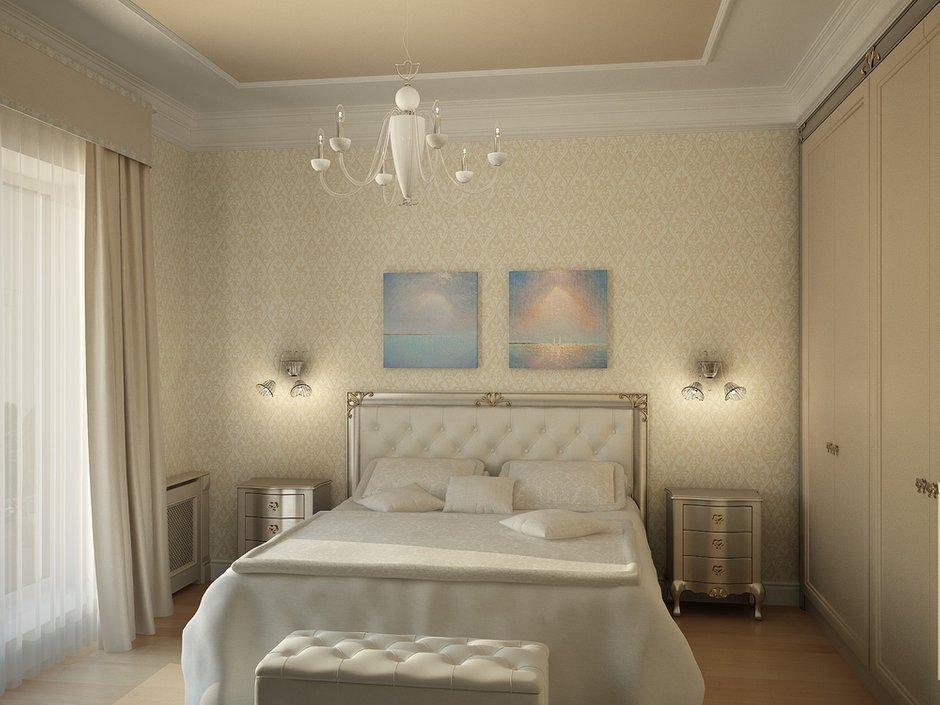 Фотография: Спальня в стиле Классический, Квартира, Дома и квартиры, Москва – фото на INMYROOM