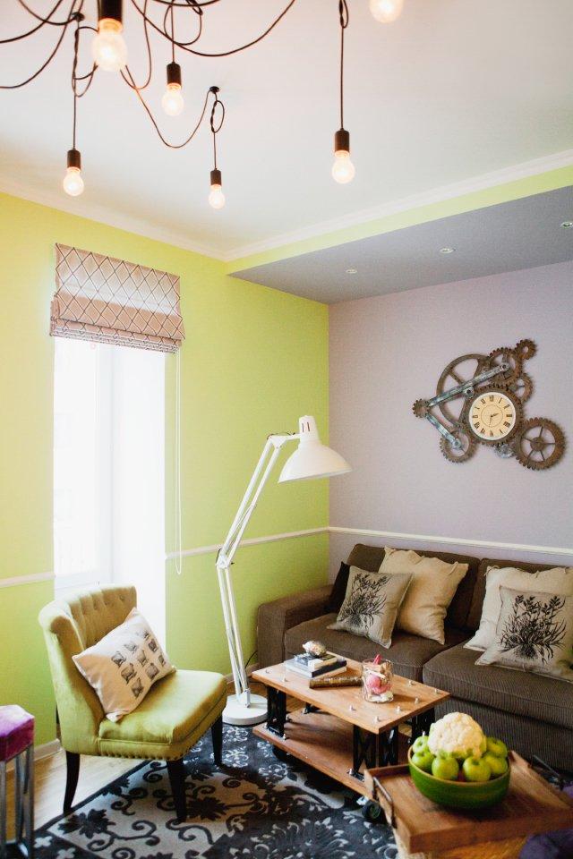 Фотография: Гостиная в стиле , DIY, Квартира, Дома и квартиры, IKEA – фото на INMYROOM