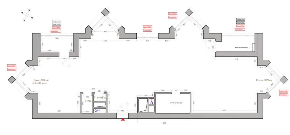Фотография: Планировки в стиле , Квартира, Проект недели, Москва, Монолитный дом, 4 и больше, Более 90 метров, Анна Максимова, ЖК «Шатер» – фото на INMYROOM