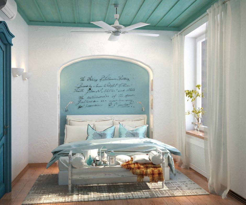 Фотография: Спальня в стиле Прованс и Кантри, Восточный, Квартира, Дома и квартиры, Проект недели, Средиземноморский – фото на INMYROOM