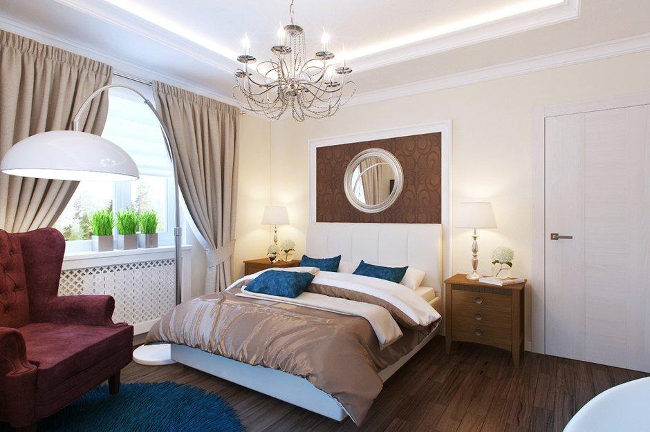 Фотография: Спальня в стиле Классический, Современный, Дом, Цвет в интерьере, Дома и квартиры, Белый, Проект недели – фото на INMYROOM