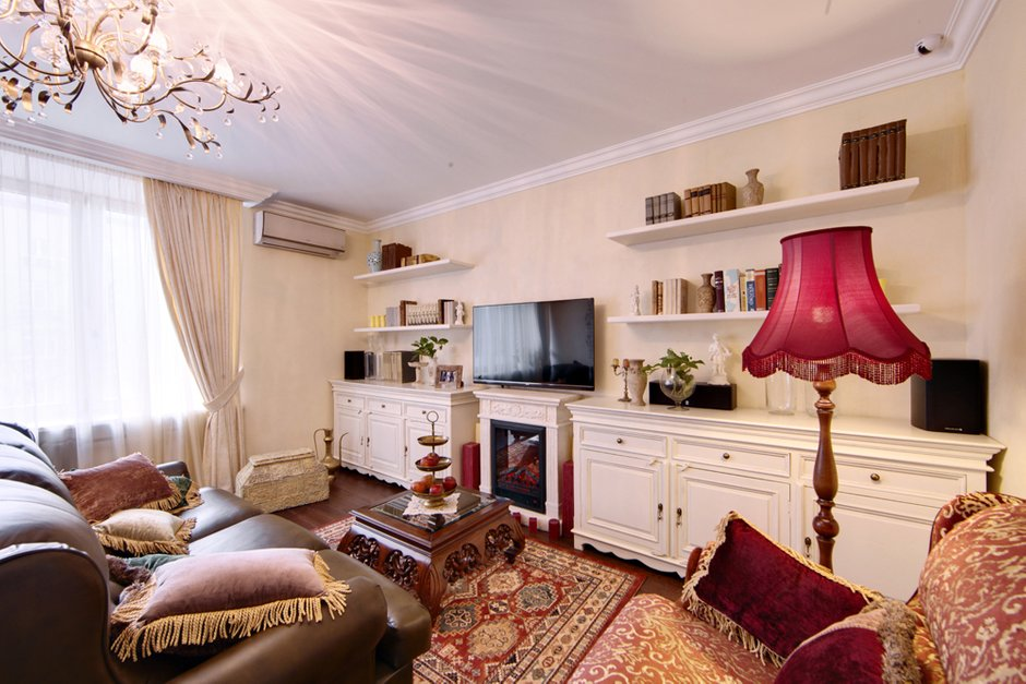 Фотография: Гостиная в стиле Прованс и Кантри, Квартира, Дома и квартиры, IKEA, Проект недели – фото на INMYROOM