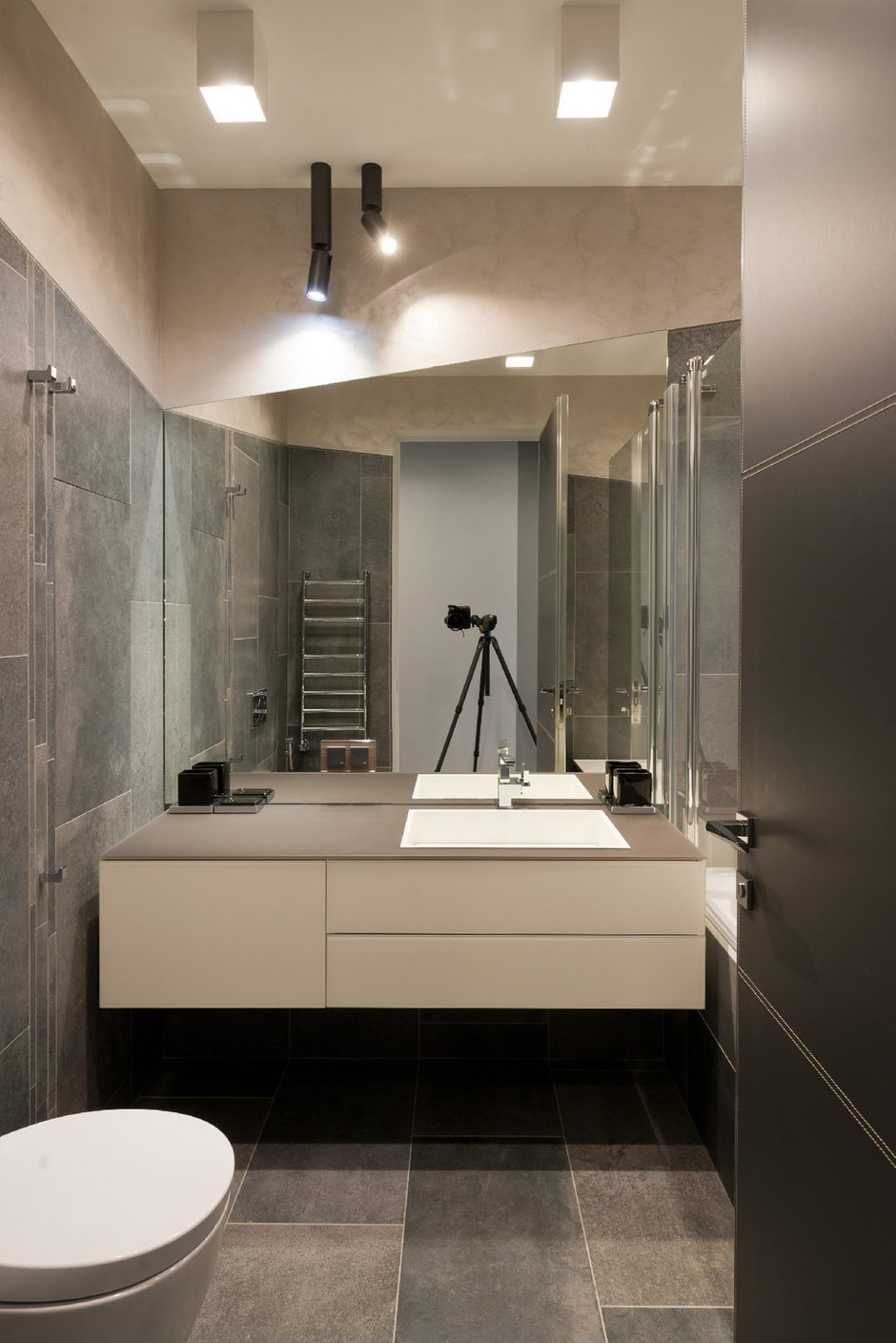 Фотография: Ванная в стиле Современный, Квартира, Минимализм, Проект недели – фото на INMYROOM