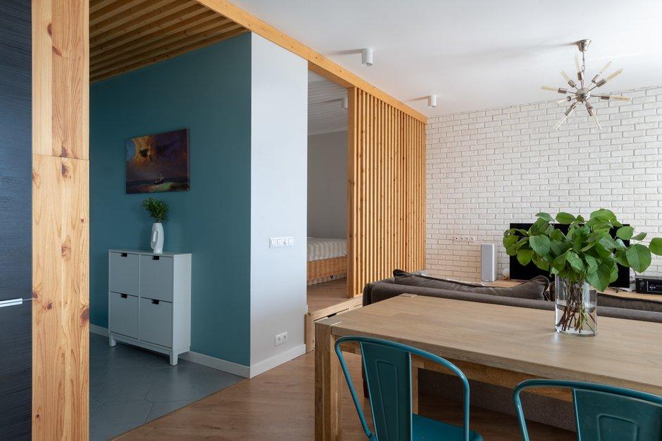 Фотография: Кухня и столовая в стиле Современный, Лофт, Квартира, Студия, Проект недели, Мытищи, 40-60 метров, Влада Загайнова – фото на INMYROOM