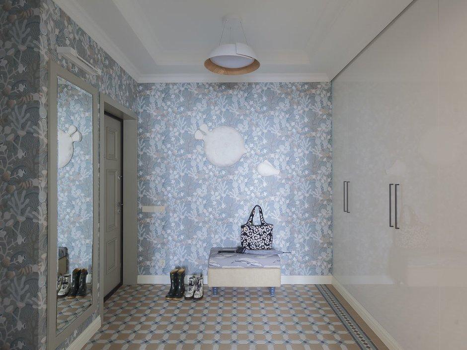 Фотография: Прихожая в стиле Современный, Квартира, Проект недели, Москва, 2 комнаты, 60-90 метров, Виктория Скоробогатько – фото на INMYROOM