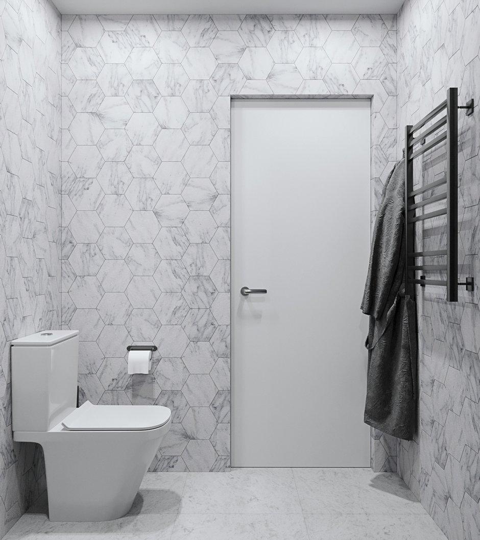 Фотография: Ванная в стиле Современный, Квартира, Проект недели, Москва, 3 комнаты, Более 90 метров, Виктория Иванова – фото на INMYROOM