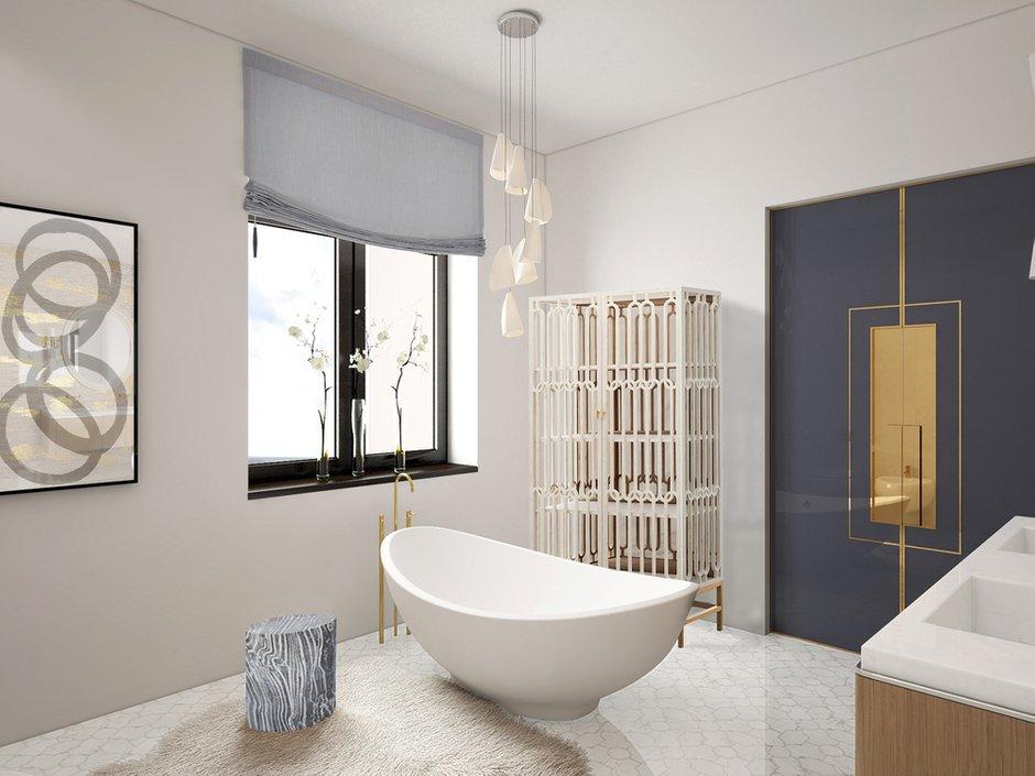 Фотография: Ванная в стиле Минимализм, Дом, Проект недели – фото на INMYROOM