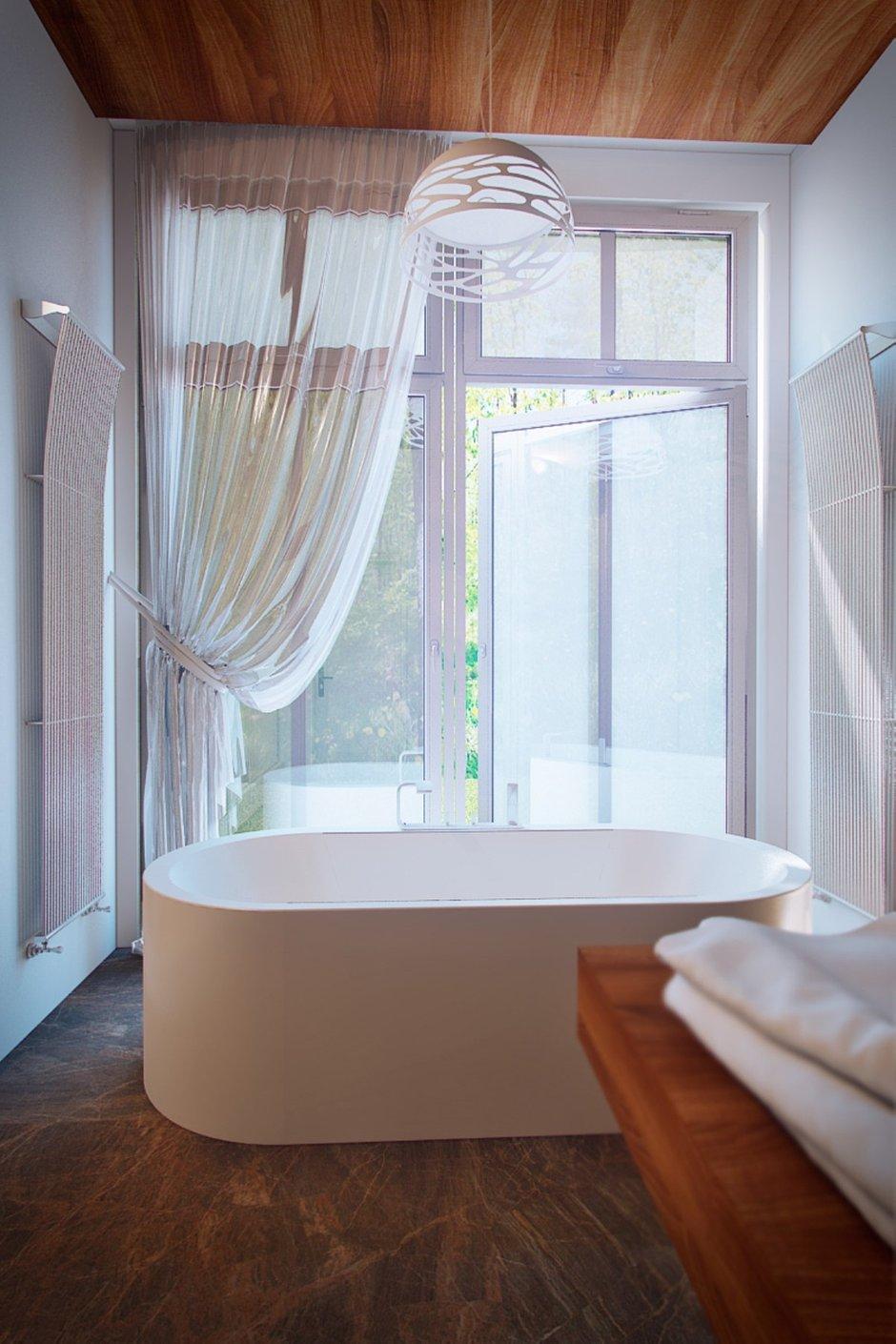 Фотография: Ванная в стиле Современный, Эко, Дом, Минимализм, Проект недели – фото на INMYROOM