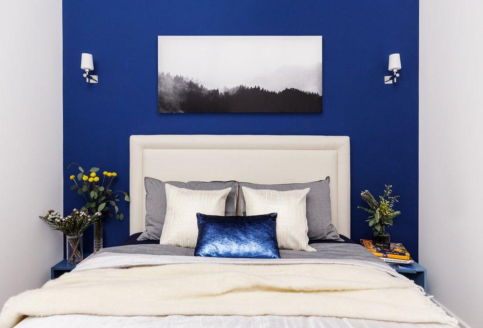 Фотография: Спальня в стиле Современный, Квартира, Проект недели, Москва, 3 комнаты, 60-90 метров, Бюро IVA – фото на INMYROOM