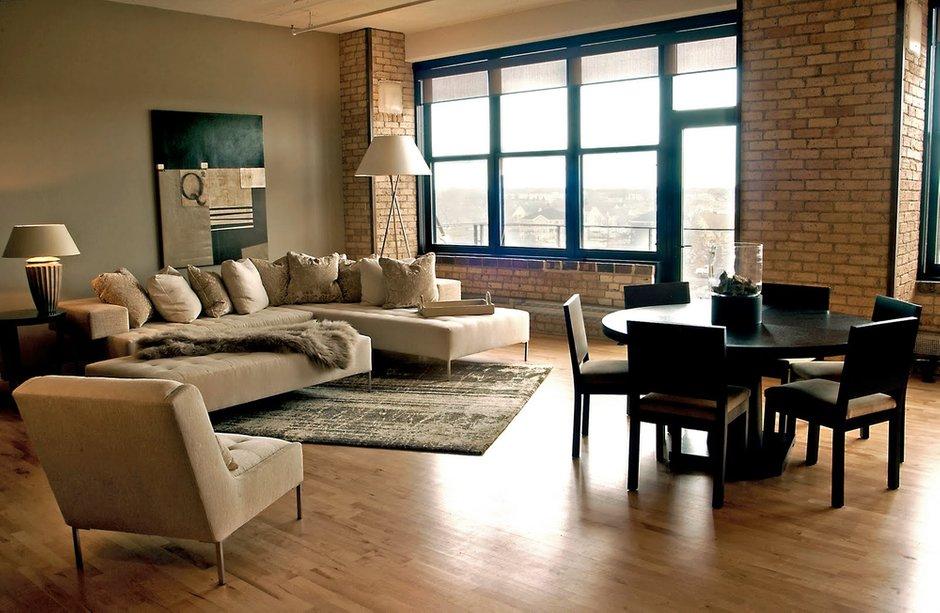 Фотография: Гостиная в стиле Лофт, Современный, Декор интерьера, Квартира, Дома и квартиры, Стена, Индустриальный – фото на INMYROOM