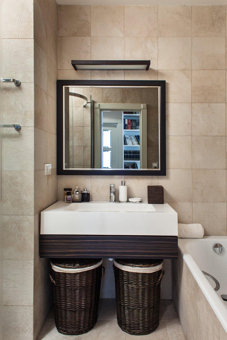 Фотография: Ванная в стиле Современный, Квартира, Hudson Valley, Vistosi, Дома и квартиры, Проект недели, Porada – фото на INMYROOM