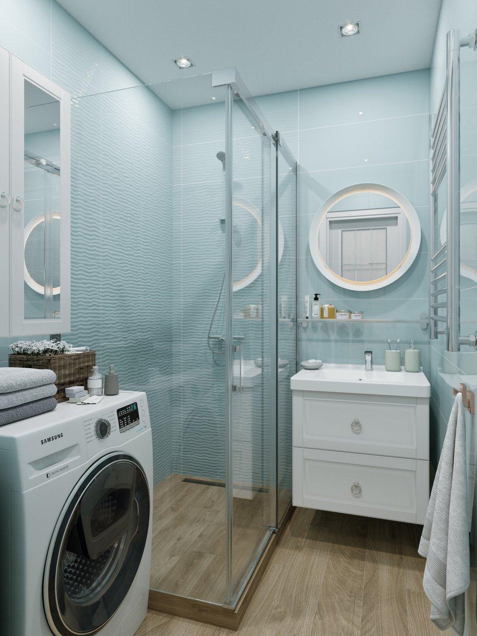Фотография: Ванная в стиле Современный, Классический, Проект недели, 1 комната, 40-60 метров – фото на INMYROOM