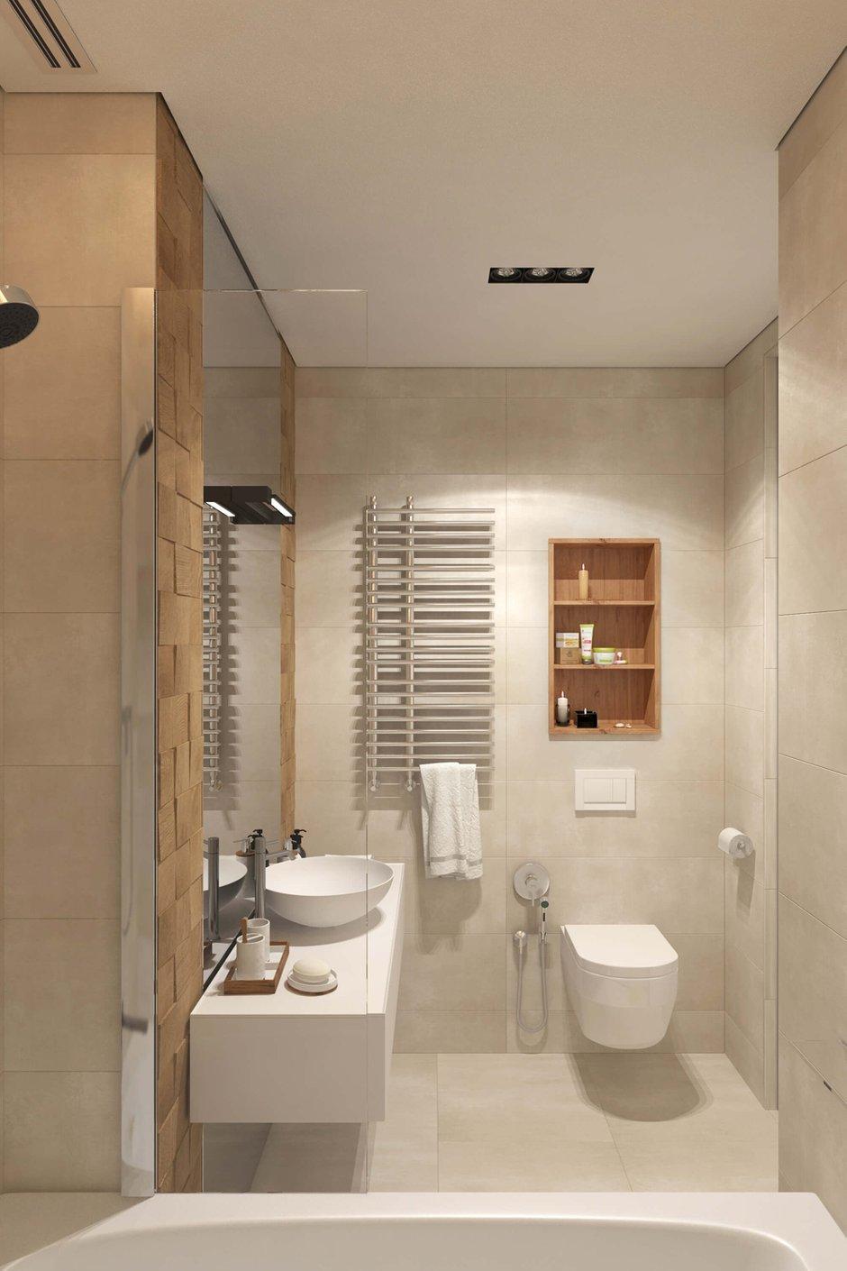 Фотография: Ванная в стиле Современный, Минимализм, Квартира, Проект недели, Geometrium – фото на INMYROOM