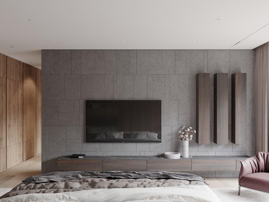 Фотография: Спальня в стиле Современный, Квартира, Проект недели, 4 и больше, Более 90 метров, Ab-architects, Level Barvikha – фото на INMYROOM