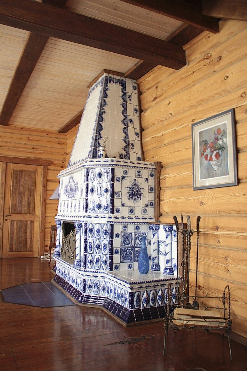Фотография: Гостиная в стиле Прованс и Кантри, Дом, Дома и квартиры, Дача – фото на INMYROOM