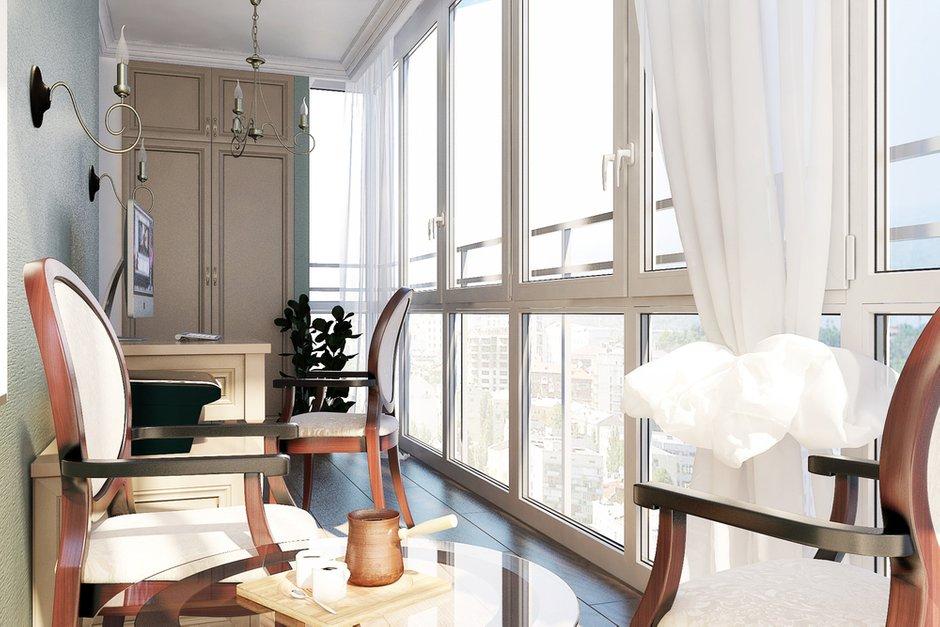 Фотография: Балкон, Терраса в стиле Прованс и Кантри, Квартира, Дома и квартиры, Проект недели – фото на INMYROOM