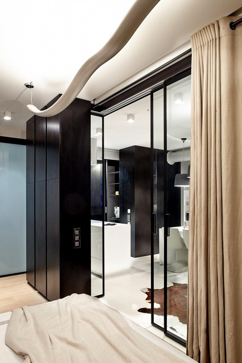 Фотография: Спальня в стиле Современный, Малогабаритная квартира, Квартира, Украина, Дома и квартиры, Киев – фото на INMYROOM